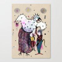 Birdy Mysterium Canvas Print