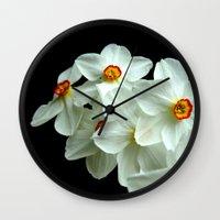 flower dream Wall Clock