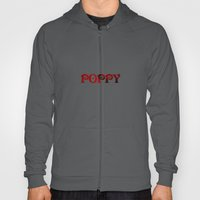 Poppies aglow Hoody