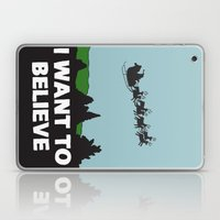I Want To Believe (in Sa… Laptop & iPad Skin