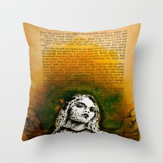 Wings Series Two (Angel)  Throw Pillow