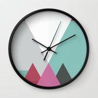 Drei Schatten Wall Clock