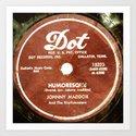 Humoresque - Vintage Vinyl Art Print