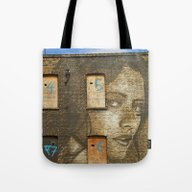 The Girl On Curtain Road Tote Bag