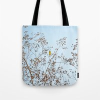 Little Yellow Bird Tote Bag