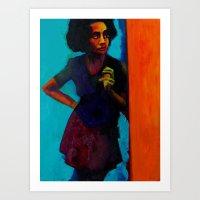 On The Corner Art Print