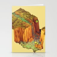 Stationery Cards featuring Waterfall by Timothy J. Reynolds