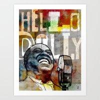 Louis Armstrong: Hello Dolly! Art Print