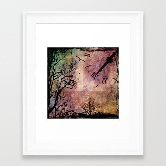 Precious Little Time Framed Art Print