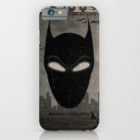 WANTED: Masked Vigilante iPhone 6 Slim Case