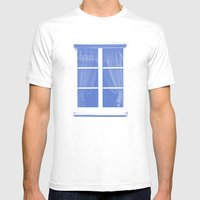 fenster 1 Mens Fitted Tee White SMALL
