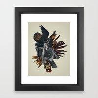 Burn In Self Effigy Framed Art Print