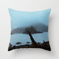 Cape Scott Throw Pillow