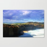 Southern Ocean Headlands Canvas Print