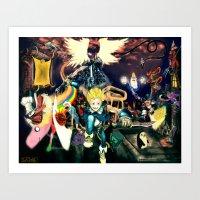 Final Adventure Fantasy … Art Print