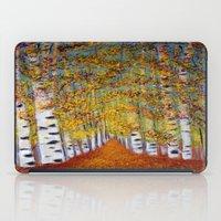 Birch Trees iPad Case