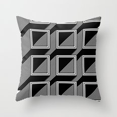 Extrube Throw Pillow