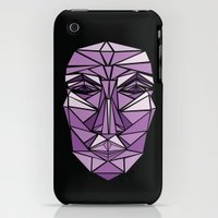 iPhone Cases featuring Shattered 1 by Alex Field