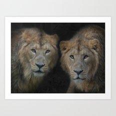 big brothers Art Print