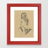 MARTINA Framed Art Print