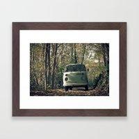 VwT2-n.8 Framed Art Print