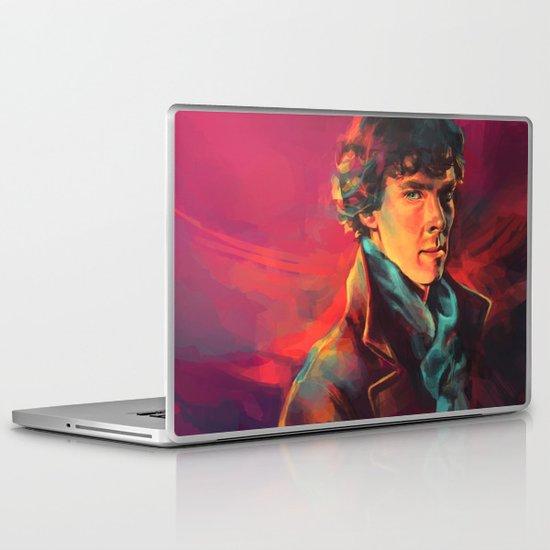 A Study in Pink Laptop & iPad Skin