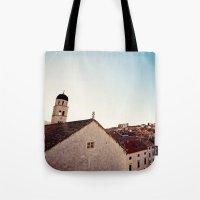 Sunrise in Dubrovnik Tote Bag