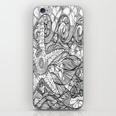 Starfish went out swimming iPhone & iPod Skin