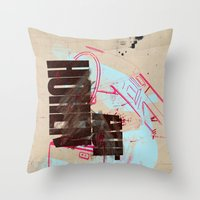 Now Or Later 5 Throw Pillow