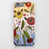 iPhone & iPod Case featuring Abstract Floral Art ... FULL OF JOY, by Amy Giacomelli by Amy Giacomelli