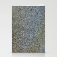 Sea of Lines Stationery Cards