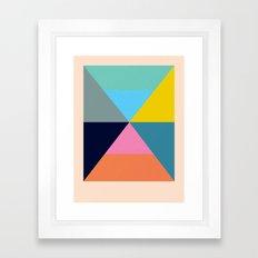Dhurrie Ocean 1 — Matthew Korbel-Bowers Framed Art Print