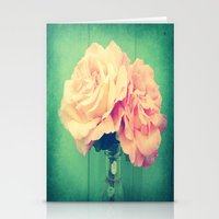 roses Stationery Cards featuring Roses by 2sweet4words Designs