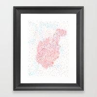 Doomsday Heart Framed Art Print
