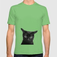 What!? Mens Fitted Tee Grass SMALL