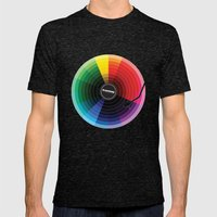 Pantune - The Color of Sound Mens Fitted Tee Tri-Black SMALL