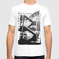 Her Front Door Mens Fitted Tee White SMALL