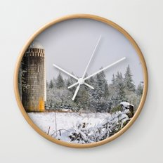 Remnants of a Simpler Time - The Silo Wall Clock