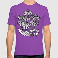 Summer Night Mens Fitted Tee Ultraviolet SMALL