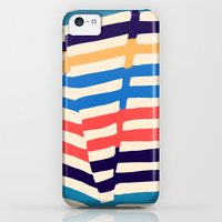 iPhone 5c Cases featuring Folded by Budi Kwan