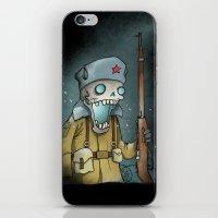 White Russian iPhone & iPod Skin