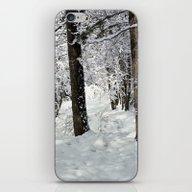 Winter Hike iPhone & iPod Skin