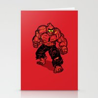 Angry Bird hulk Red Stationery Cards