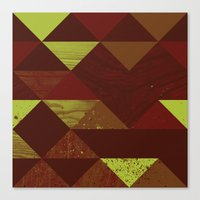 Dimensional Wood Canvas Print