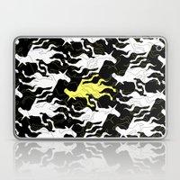 Psychedelic Yellow Unico… Laptop & iPad Skin