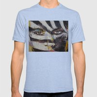 Carnival Mens Fitted Tee Tri-Blue SMALL