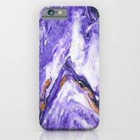 Chevron Amethyst 1 iPhone 6 Slim Case
