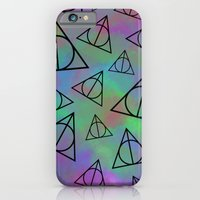 iPhone & iPod Case featuring Deathly Hallows  by Paige Norman