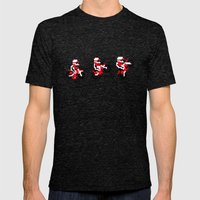 Excitebike Mens Fitted Tee Tri-Black SMALL