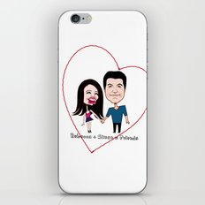 Rebecca Black and Simon Cowell are Friends iPhone & iPod Skin